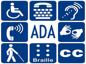 icons representing various disabilities